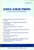 Jurnal Inkoma UNDARIS 1990
